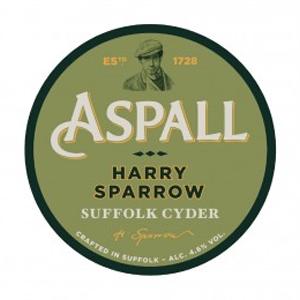 Aspalls Harry Sparrow Suffolk Cyder 4.6% 50l